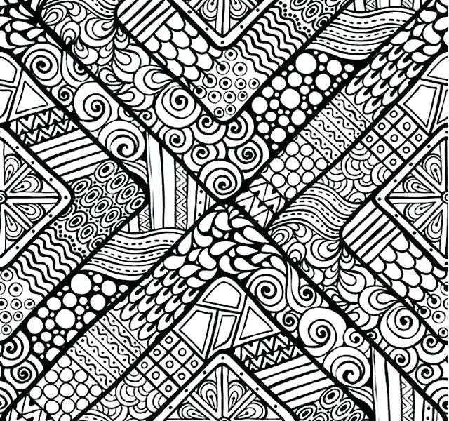 640x600 Coloring Pages With Designs Patterns Coloring Pages Coloring