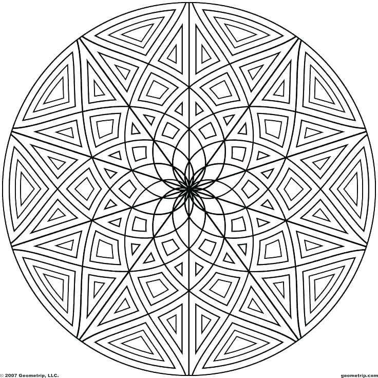 736x736 Cool Pattern Coloring Pages Cool Pattern Coloring Pages Geometric