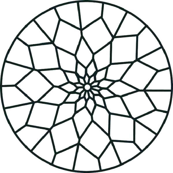 600x600 Geometric Design Coloring Pages Geometric Design Coloring Pages