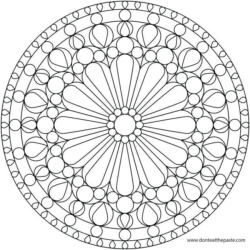 800x800 Kaleidoscope Coloring Pages Pattern Coloring Pages Coloring Pages