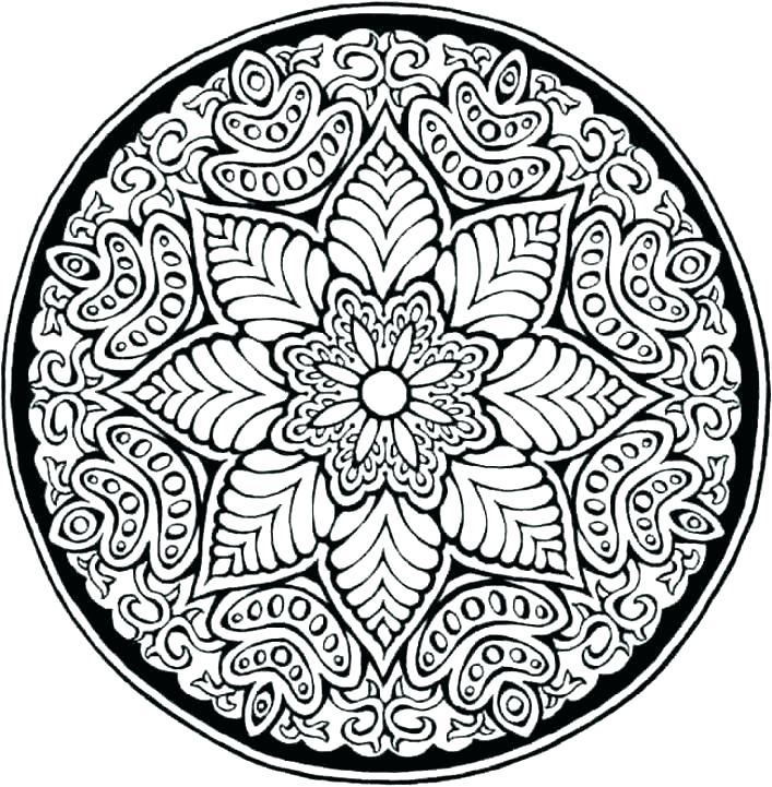 707x721 Coloring Pages Of Patterns Coloring Pages Patterns Colouring Pages