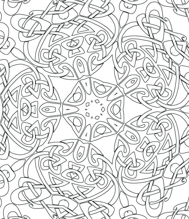 654x756 Coloring Pages Of Patterns Coloring Pages Patterns With Pattern