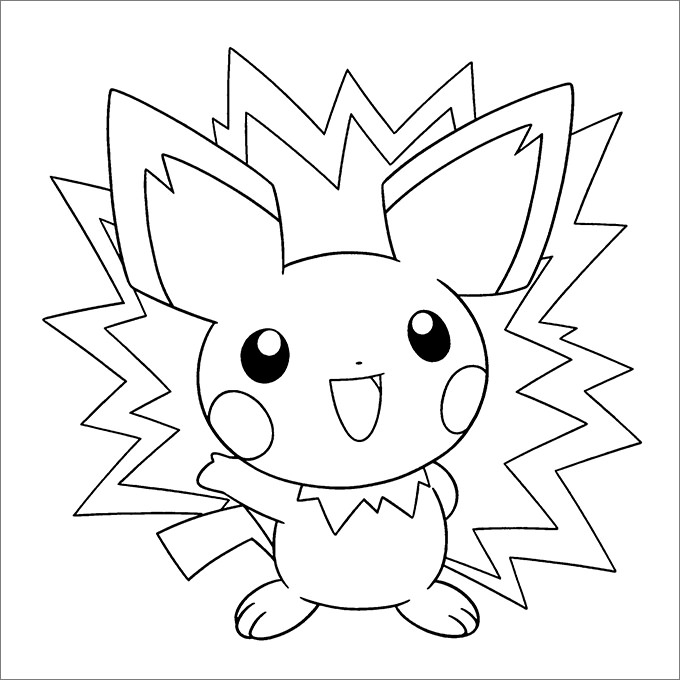 680x680 Pokemon Coloring Pages