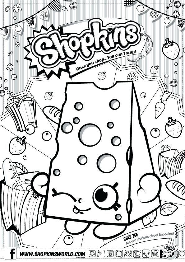 595x842 Shopkins Coloring Pages Pdf Also Coloring Sheets Fete Coloring