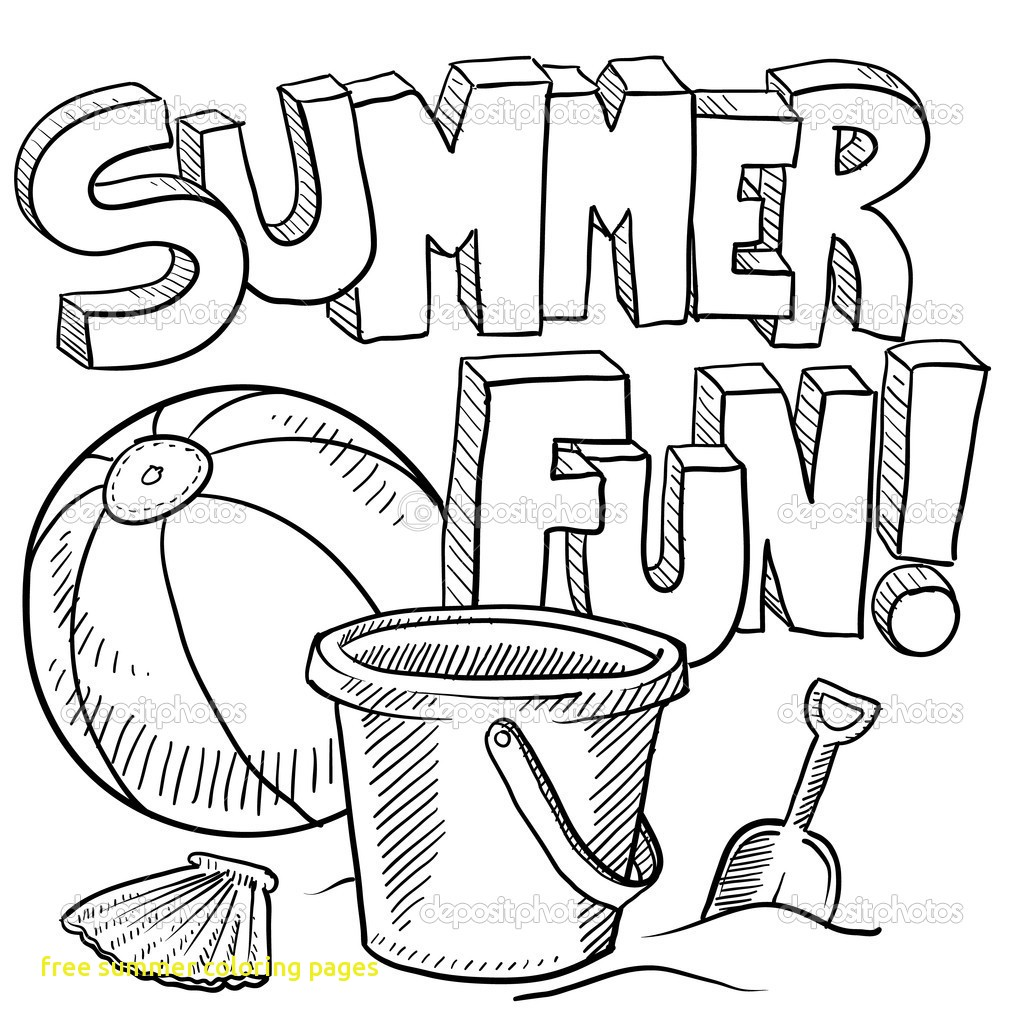 1024x1024 Summer Coloring Pages Pdf