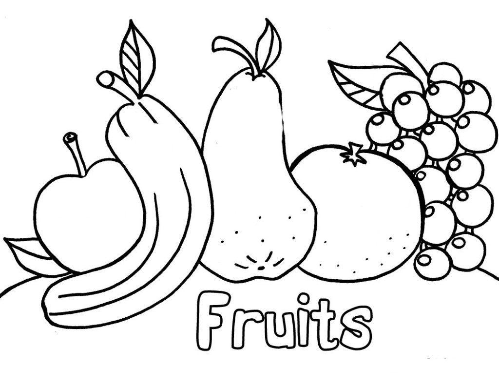 1024x792 Unique Fruit Coloring Pages Pdf Gallery Printable Coloring Sheet