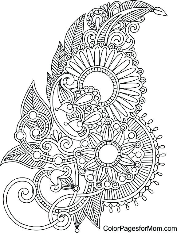 576x760 Coloring Pages Pdf Download