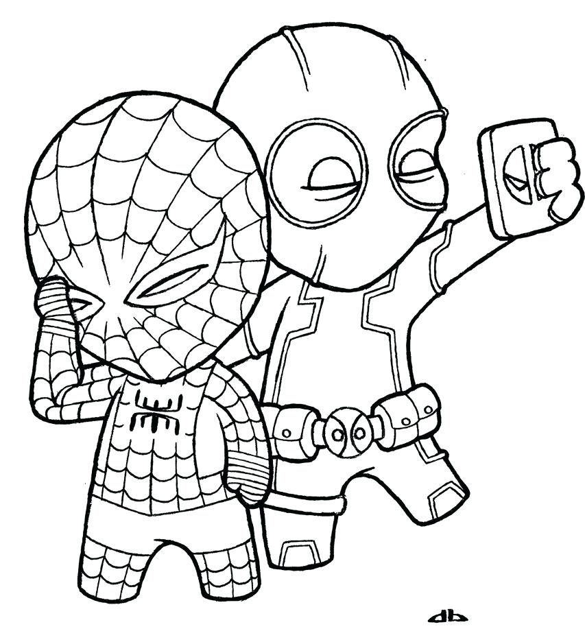 853x936 Baby Coloring Pages And Spiderman Sheets Pdf Download Free