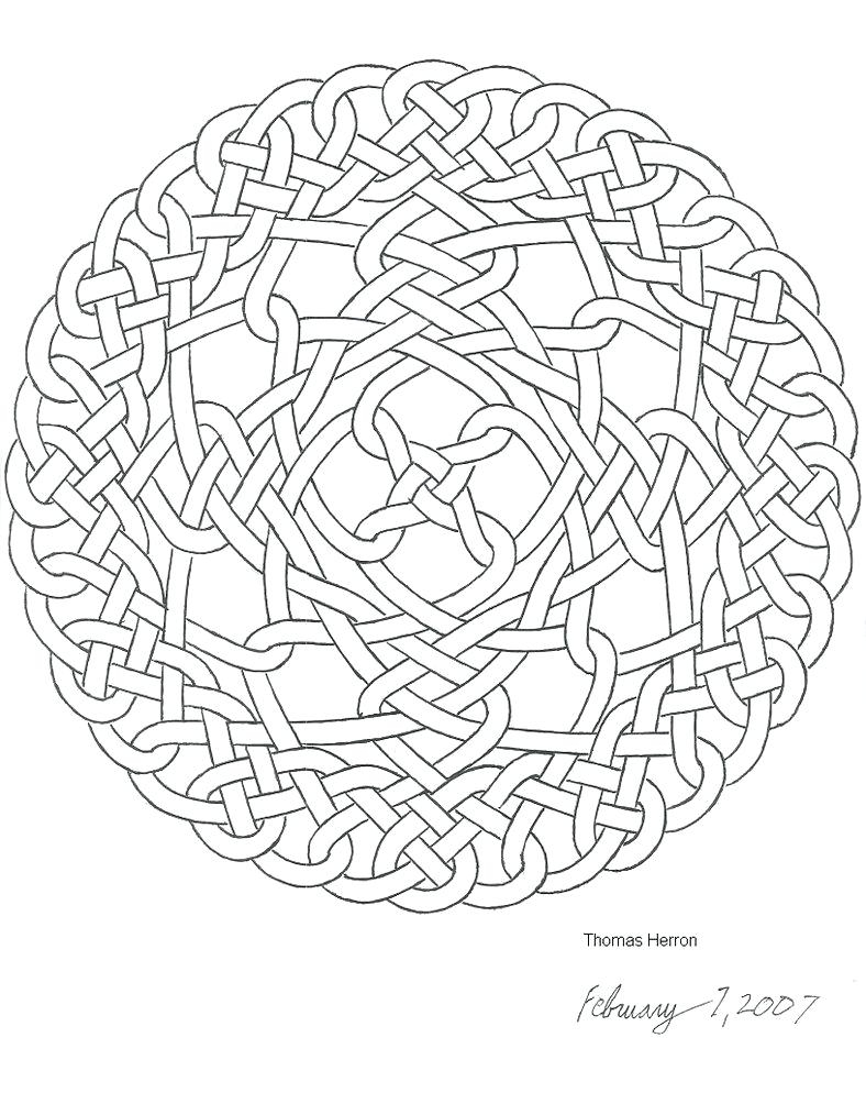 788x1014 Free Celtic Knot Adult Coloring Pages Pdf Download