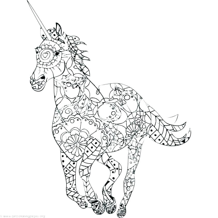 843x843 Free Coloring Pages Pdf Free Coloring Pages Unicorn Color Page