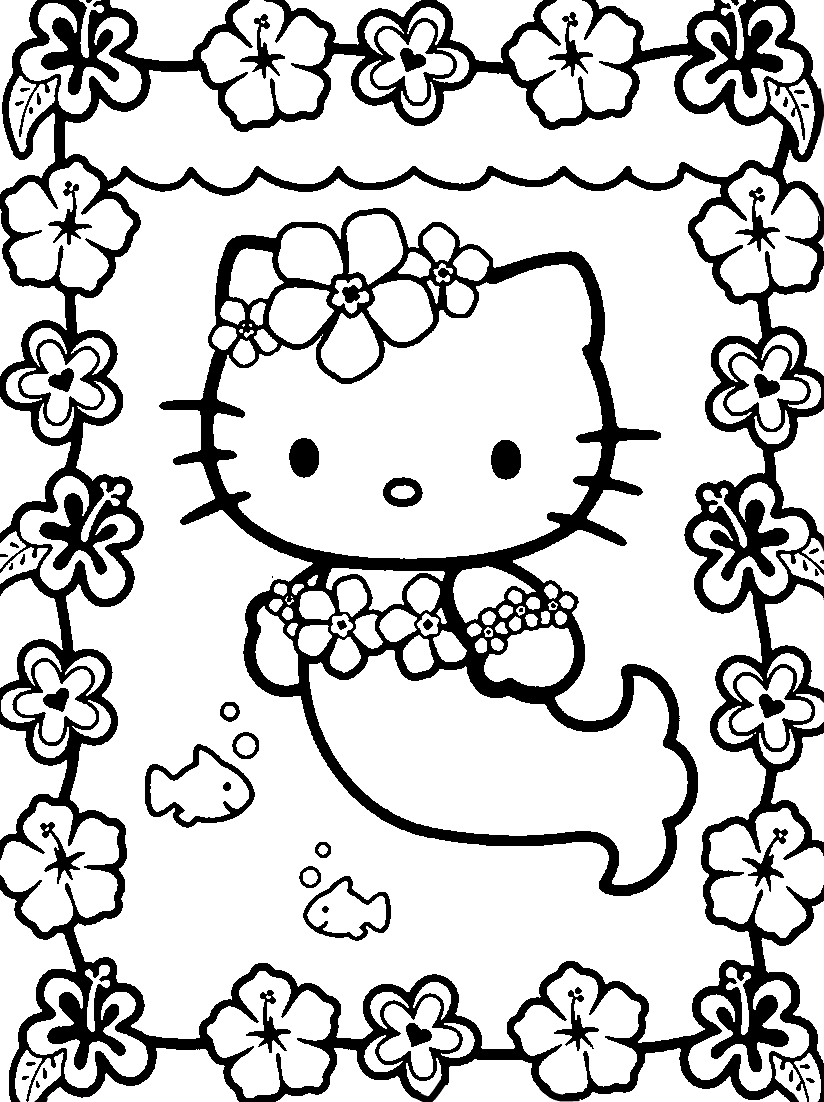 824x1102 Hello Kitty Coloring Pages Pdf Free Archives And At Bloodbrothers