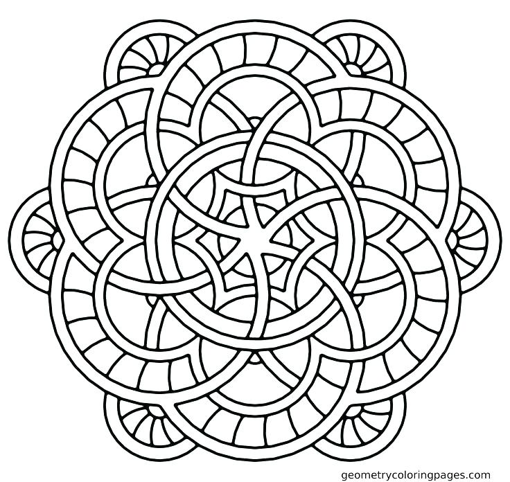 736x696 Mandala Coloring Pages Pdf