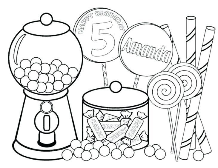730x563 Candy Coloring Page All Kids Favorite Candy Coloring Page Free