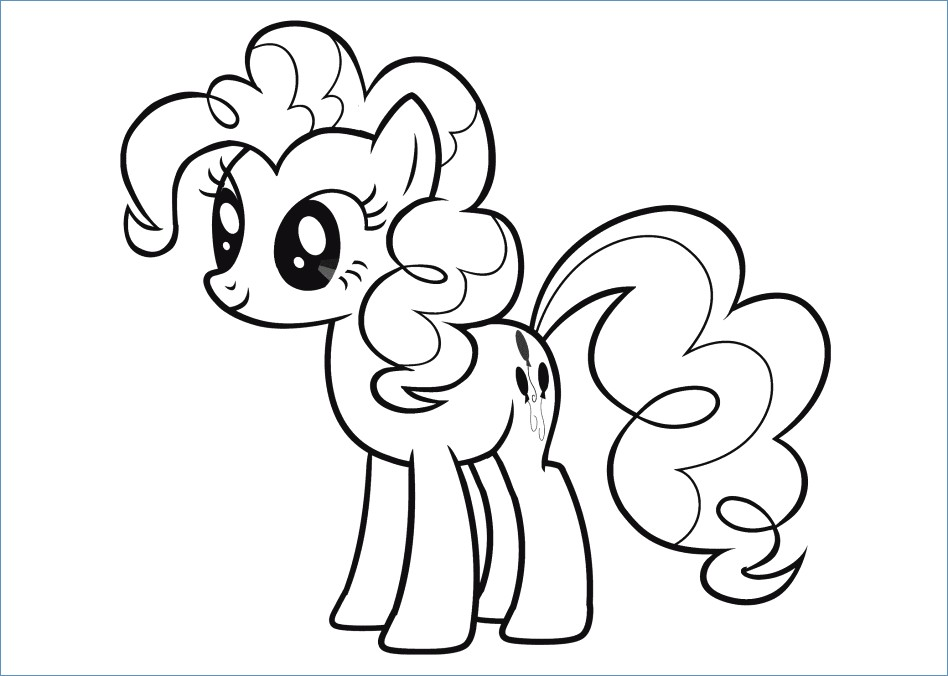 948x676 My Little Pony Coloring Pages Pinkie Pie