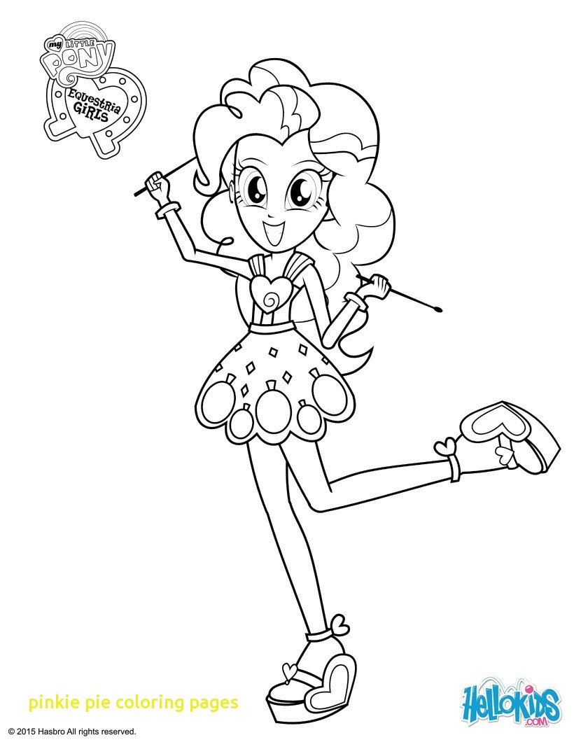 820x1060 My Little Pony Coloring Pages Pinkie Pie At The Gala