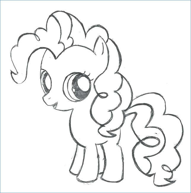 644x650 My Little Pony Is Magic Coloring Pages Pinkie Pie