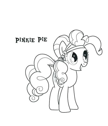 426x500 Pinkie Pie Coloring