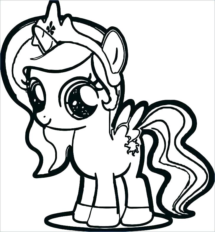 728x783 My Little Pony Baby Coloring Pages My Little Pony Coloring Pages