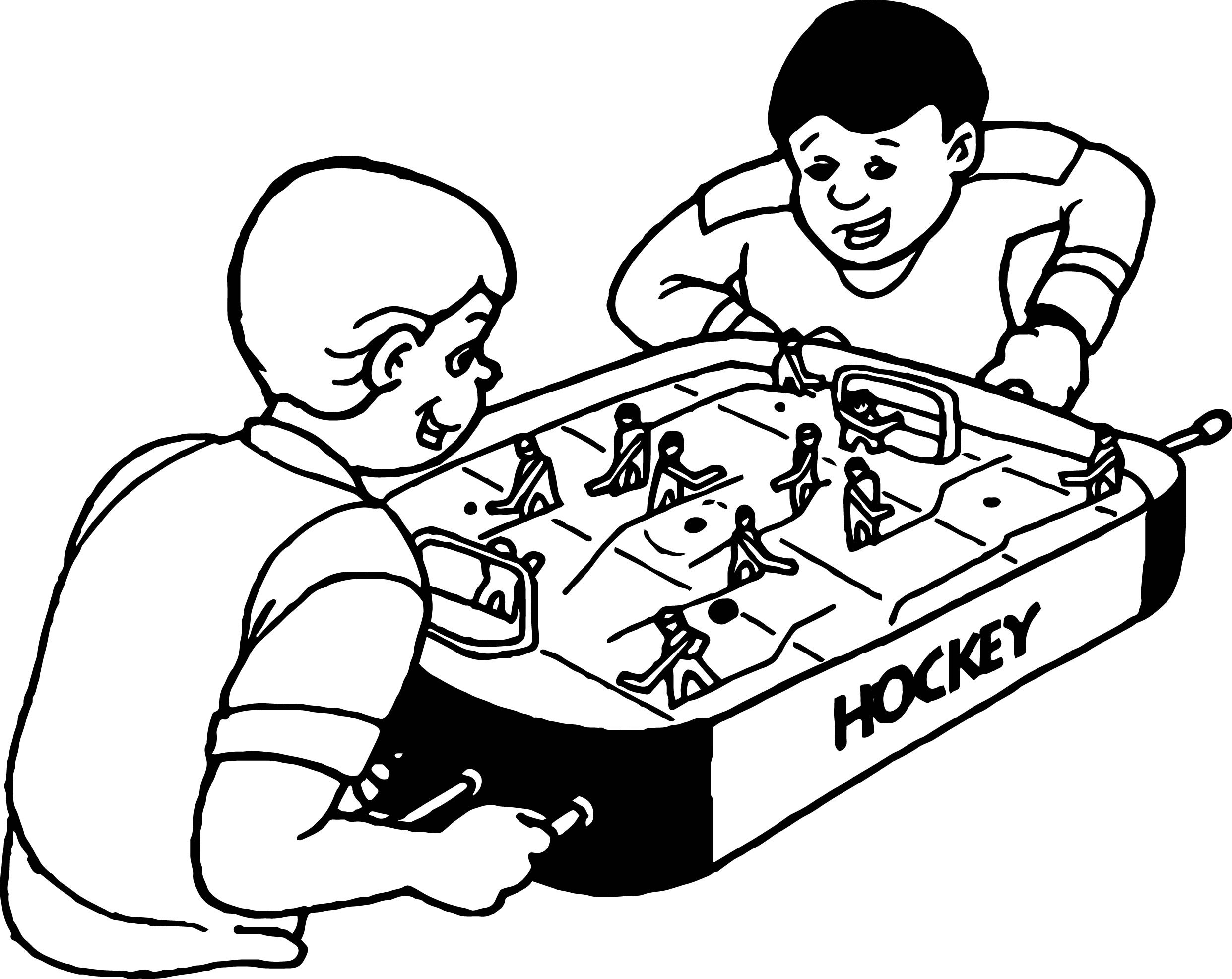 2483x1973 Hockey Coloring Pages Inspirational Boys Play Board Throughout