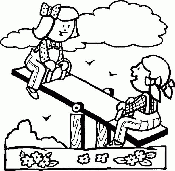 616x600 Play Coloring Pages
