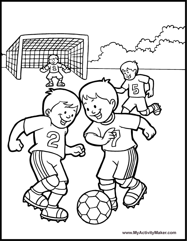 618x798 Soccer Coloring Page Projects To Try Craft