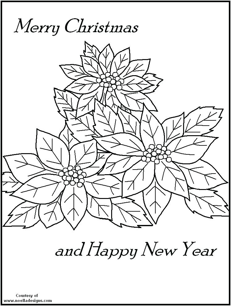 748x989 Legend Of The Poinsettia Coloring Page Deepart