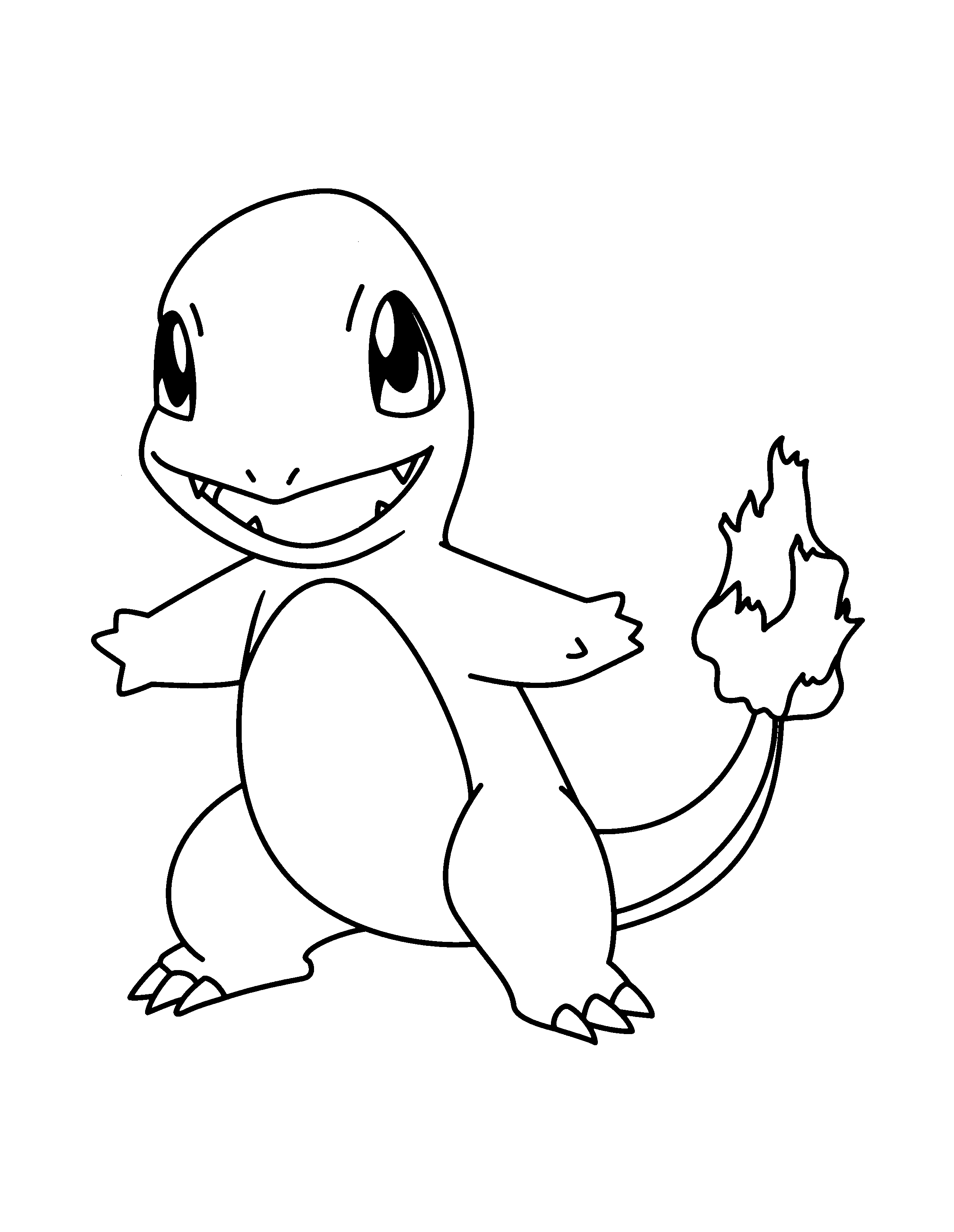 2400x3100 Best Of Pokemon Coloring Pages Charmander Design Printable