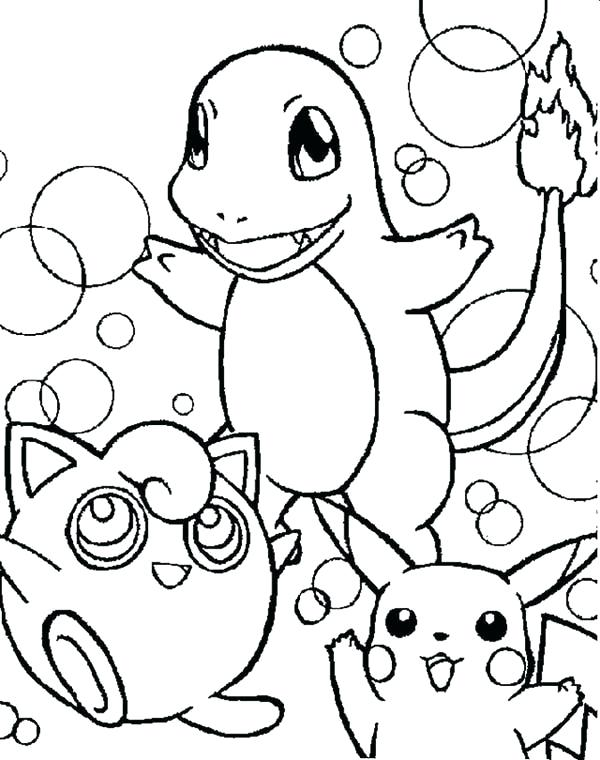 600x760 Pokemon Charmander Coloring Pages And Friends Coloring Pages