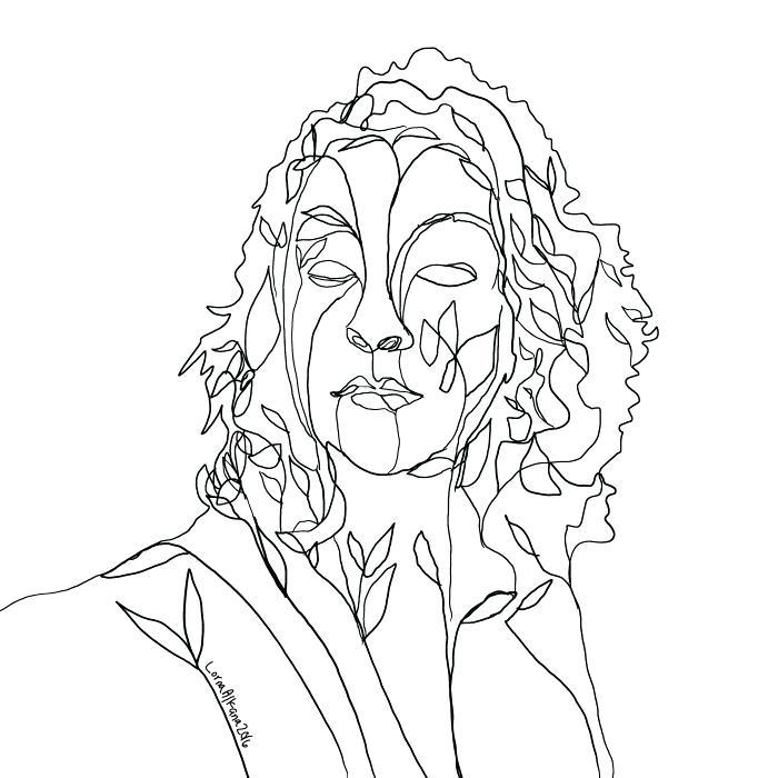 700x700 Self Portrait Coloring Page Self Portrait Coloring Page You Self