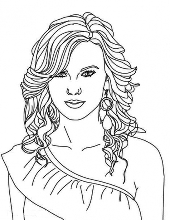 Coloring Pages Portraits at GetDrawings | Free download