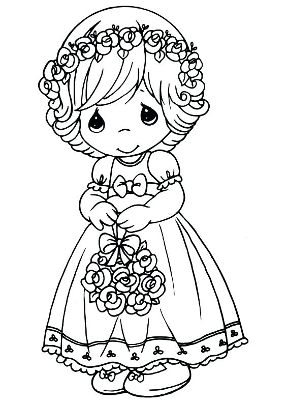 32 Precious Moments Coloring Pages - Free Printable Coloring Pages
