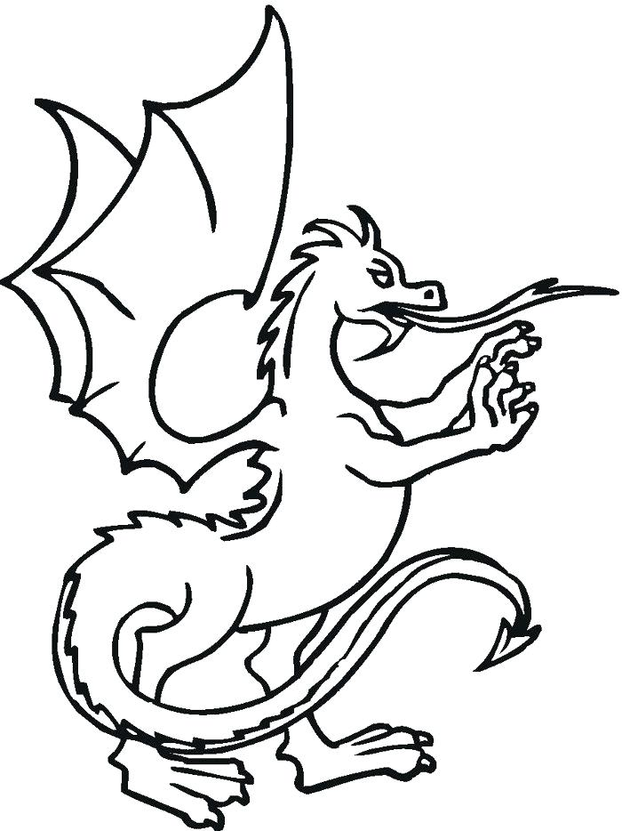 700x934 Dragon Coloring Pages Easy Dragon Coloring Pages Printable Chinese