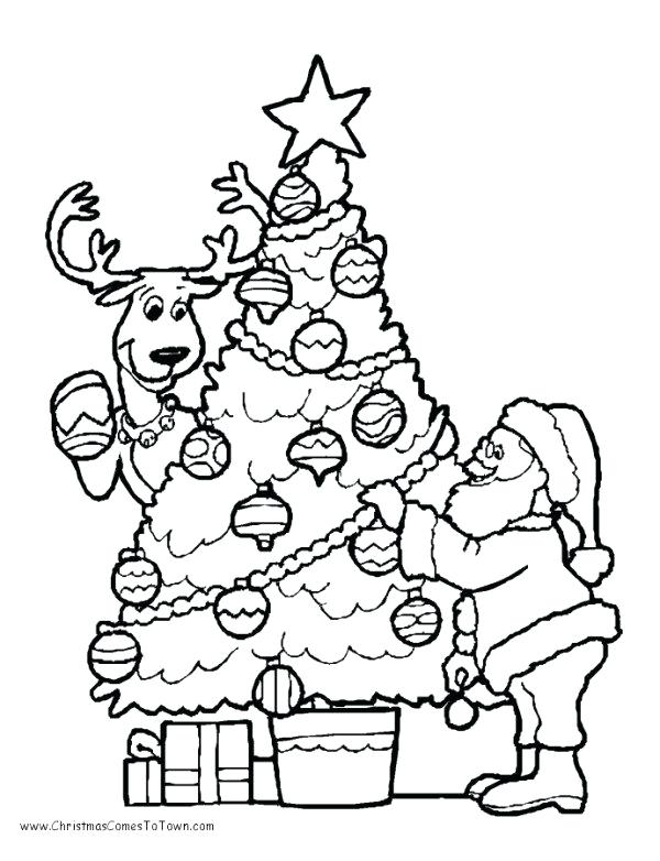 600x782 Free Christmas Coloring Worksheets