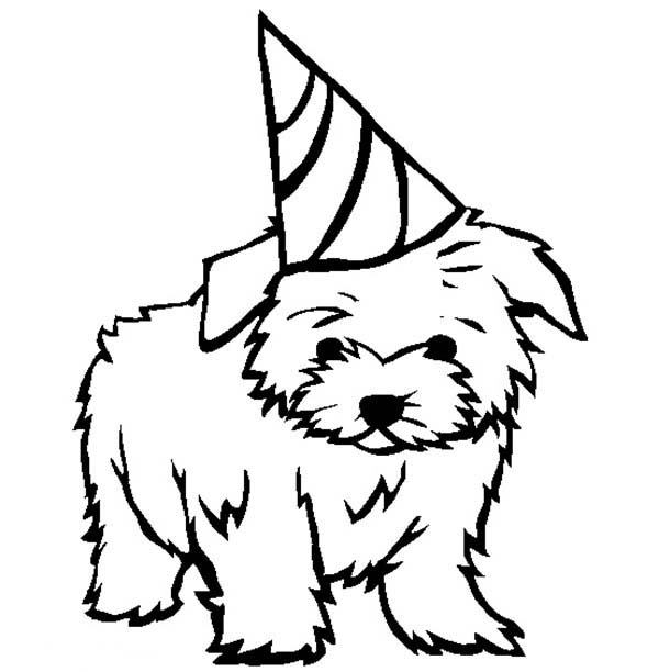 Free Printable Puppies Coloring Pages For Kids | 612x600