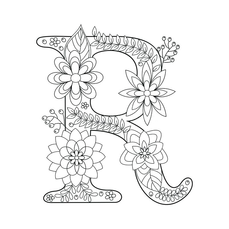 800x800 Letter R Coloring Letter R Coloring Pages R Coloring Sheet Letter