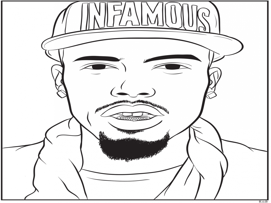 Coloring Pages Rappers At Getdrawings Com Free For Personal Use