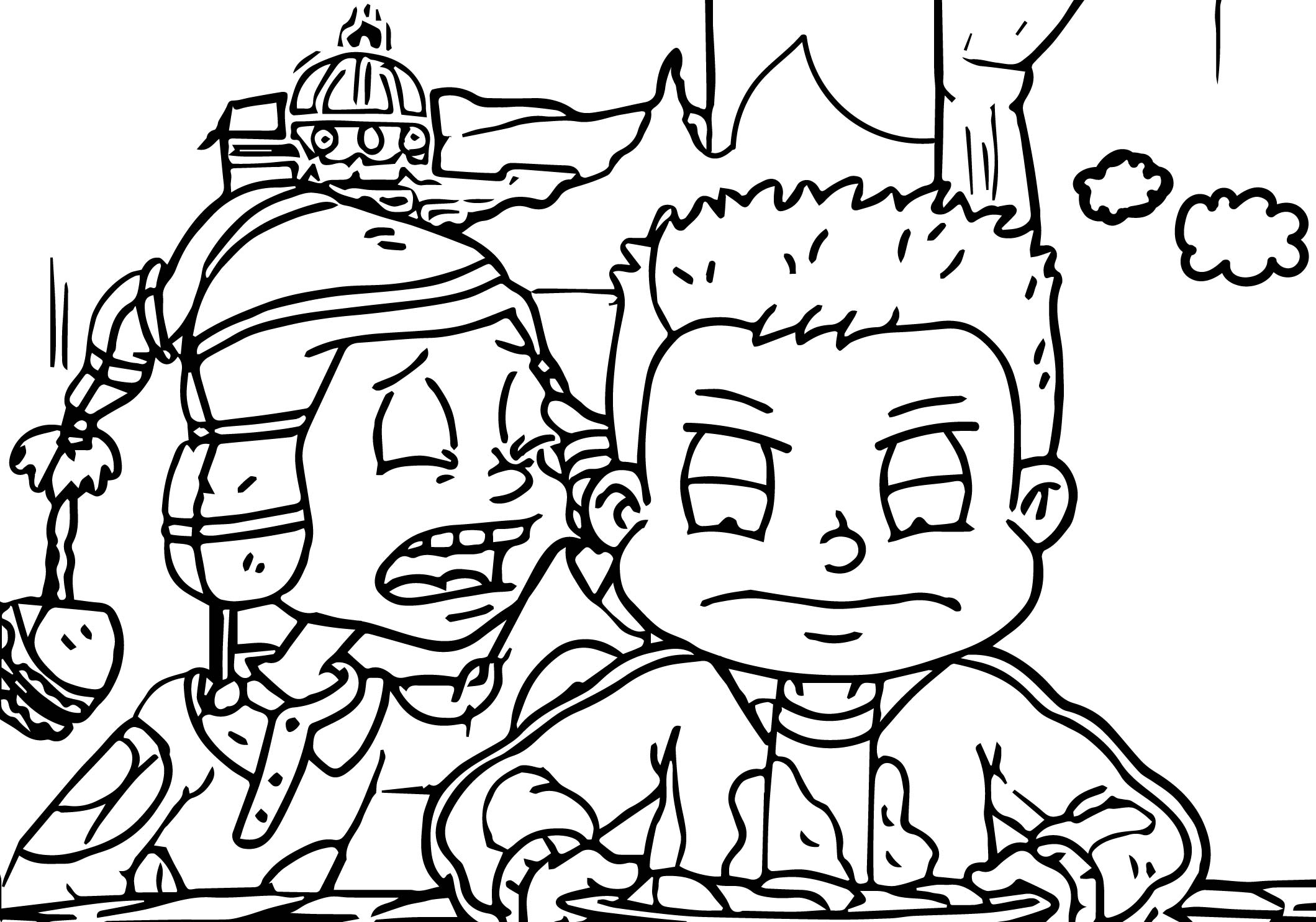 2119x1485 Rugrats All Grown Up Rugrats All My Eye Coloring Page Wecoloringpage