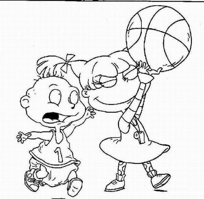 Coloring Pages Rugrats at GetDrawings.com | Free for ...