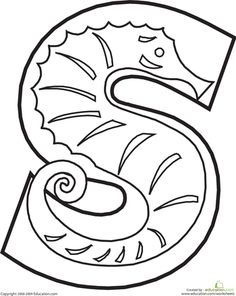 236x296 Letter S Coloring Pages All Coloring Pages