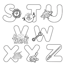 230x230 Top Free Printable Letter S Coloring Pages Online