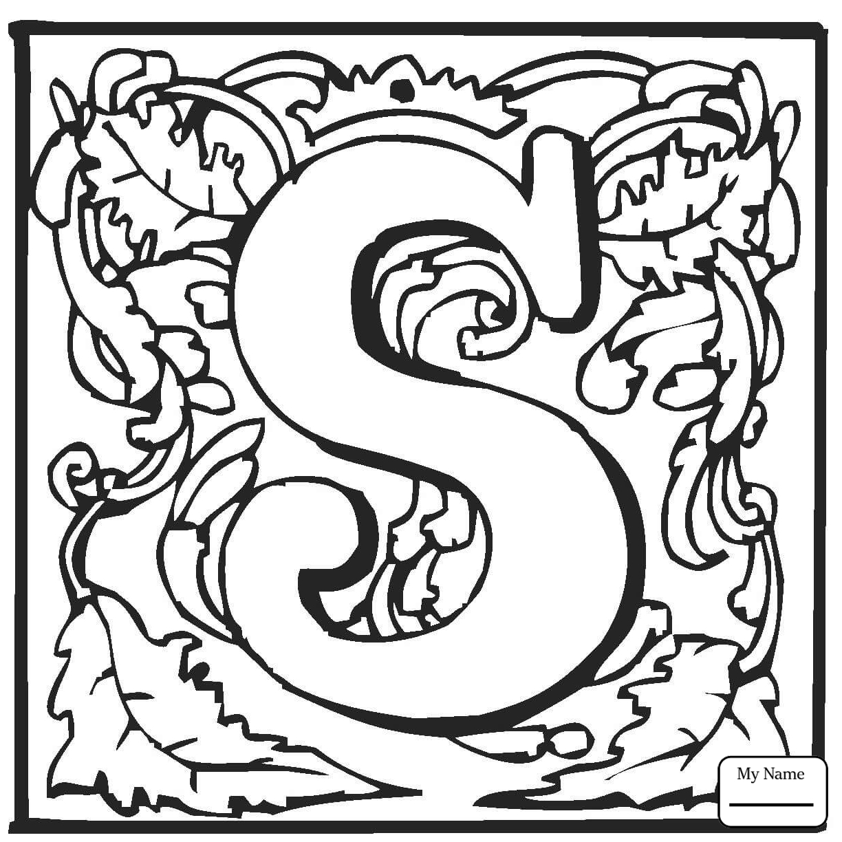 1224x1224 Awesome Letter S Coloring Pages Collection Printable Coloring Sheet