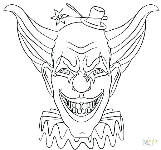 516x480 Scary Coloring Pages Scary Coloring Pages Kids With Costumes