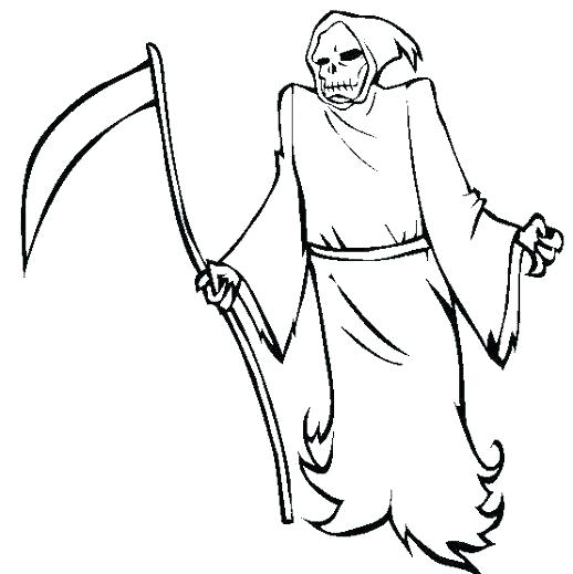 518x519 Scary Coloring Pages Scary Coloring Pages Scary Coloring Pages