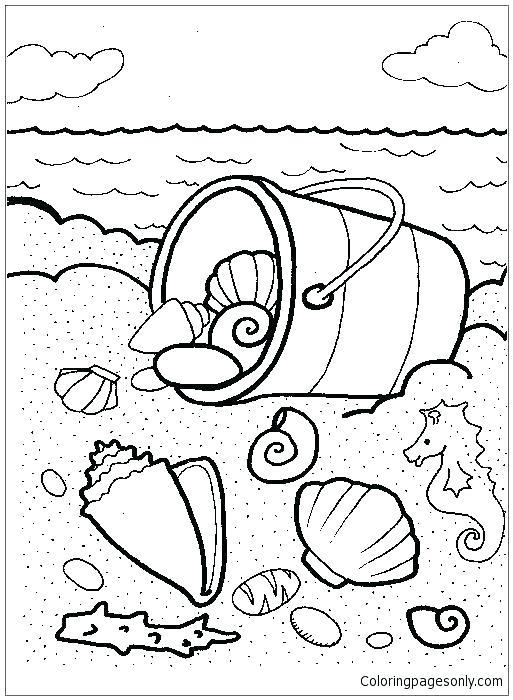 513x700 Seashell Coloring Page Plus Seashell Coloring Page Sea Shell