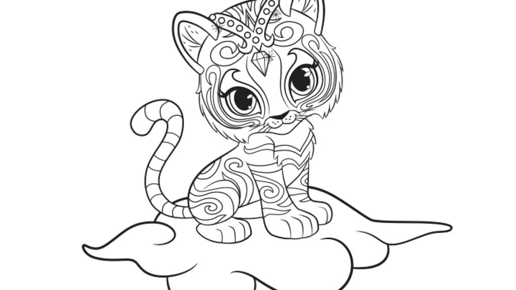 photograph relating to Shimmer and Shine Printable Coloring Pages named Coloring Web pages Shimmer And Glow at  No cost