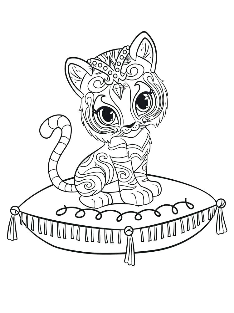 750x1000 Shimmer And Shine Coloring Pages Or Shimmer And Shine Coloring