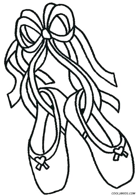 454x650 Ballet Coloring Pages Shoes Coloring Pages Pictures Ballet