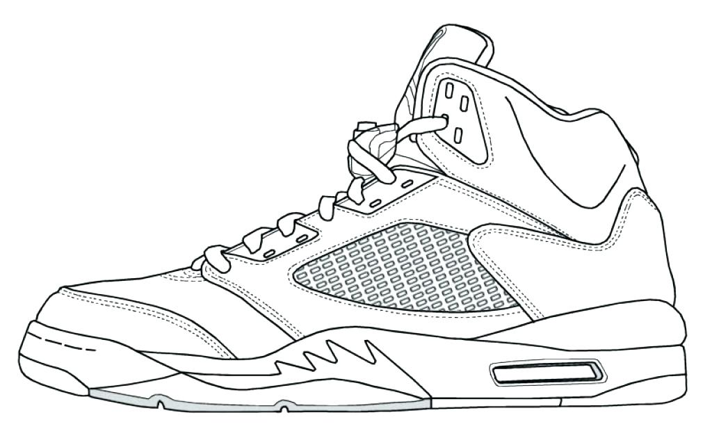 1024x630 Coloring Pages Shoes Printable Coloring Page Shoes Air Shoes