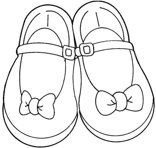 600x569 Projects Design Shoe Coloring Page Shoes For Teenage Girl Sky