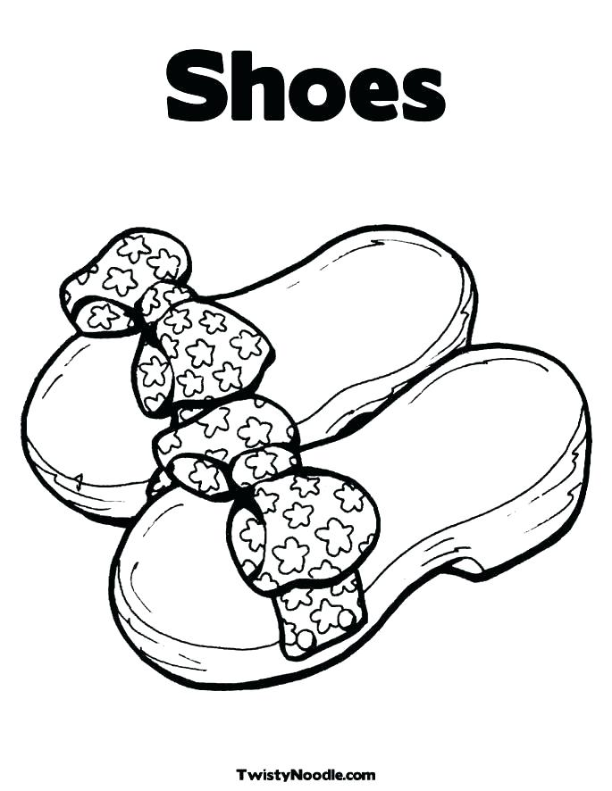 685x886 Coloring Pages Of Shoes Coloring Pages Shoes Drawn Shoe Coloring